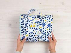 Tutoriel DIY: Coudre un sac à langer à trois compartiments via DaWanda.com