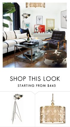 """Chrome in a White Room"" by annmaira ❤ liked on Polyvore featuring interior, interiors, interior design, home, home decor, interior decorating and Ralph Lauren"