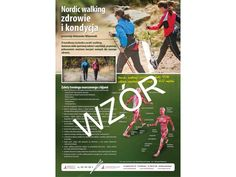 Nordic walking, plakat nordic walking