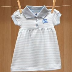 BOYS UNIVERSITY OF NORTH CAROLINA BABY CRAWLER OUTFIT