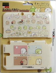 Nintendo Official Kawaii XL Hard Cover -Sumikko Gurashi (Things in the Corner) in daily life- Nintendo 3ds, Nintendo Switch Accessories, Animal Crossing 3ds, Gamers Anime, Cute Stationary, Anime Gifts, Gamer Room, Disney Infinity, Birthday Wishes