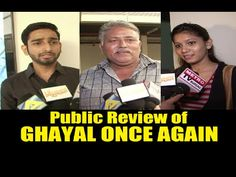 Public Review of GHAYAL ONCE AGAIN | Sunny Deol.