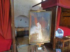Grande salle des pôvres de l'Hôtel-Dieu de Beaune, La convalescente, par Henry-Jules-Jean Geoffroy