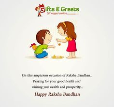 Celebrate the undying bond of love between a brother and a sister. Happy Raksha Bandhan