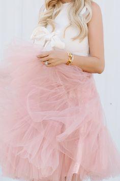 Pink Tulle Skirt - Dash of Darling