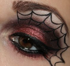 Pigmentomania 06 – Spiderweb Make Up mit Fyrinnae, Evil Shades und The Body Needs | Talasias Dreamz