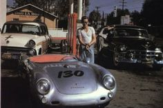 Last known photo of some famous before they die: James Dean