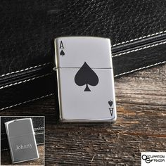 Aces Zippo Lighter