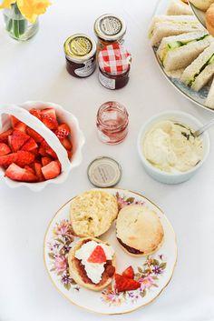 Vegan Scones with Clotted Cream | WallflowerGirl.co.uk #vegan