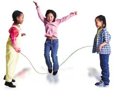 Jump Rope--became a craze on 206th St--even the boys played. Remember the games? Cinderella, School, Teddy Bear.