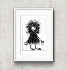 created by Konik Art Studio P. Black And White Prints, Folklore, Printmaking, Mythology, Fairy Tales, Art Prints, Studio, Unique Jewelry, Crafts
