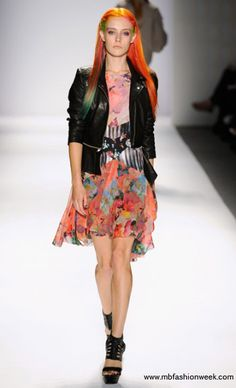 splash of color at NYFW