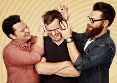 """The McElroy brothers -- Justin, Travis, and Griffin -- started their first family podcast in 2010 as a way of keeping in touch while living in different states. My Brother, My Brother and Me is a comedy advice podcast which skews heavily towards the comedy. """"The McElroy Brothers are not experts, and their advice should [...]"""