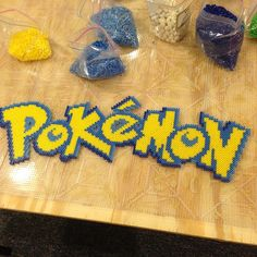 Pokemon perler beads by tyler_plurden