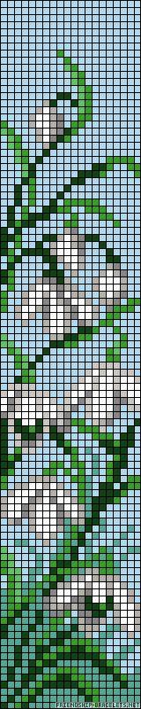 A54922 - friendship-bracelets.net bead loom patterns