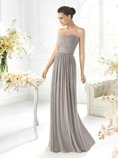 Graceful Sheath/Column Sweetheart Floor Length Prom Dress