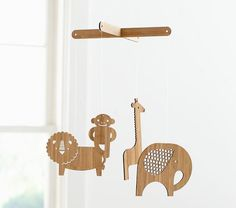 Let these baby mobiles hang overhead as your baby goes to sleep. Shop Pottery Barn Kids' crib mobiles featuring animal and nature mobile. Baby Boy Rooms, Baby Boy Nurseries, Baby Room, Nursery Room, Nursery Rhymes, Kids Rooms, Mobile Safari, Baby Crib Mobile, Baby Mobiles