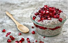 Top 10 Healthy Holiday Chia Seed Desserts - hia seeds have first been used by the Aztecs who valued them for long lasting energy, fiber, amino acids, and nutrients they provided. Chia seeds contain many nutritional benefits, such as omega 3 and 6 fatty acids, calcium, phosphorus and many others that help improve our overall health. They are also pretty light to eat and can be made into delicious desserts, especially puddings and parfaits.
