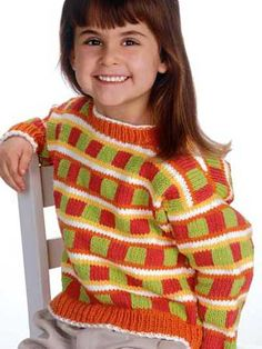 Tropical Flavors Pullover: #knit #knitting #free #pattern #freepattern #freeknittingpattern #knittingpattern