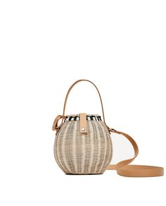 Re-create the classic French Riviera style with our edit of the best striped dresses, straw hats, Jane Birkin bags and more. Jane Birkin, French Riviera Style, It Bag, Straw Handbags, Zara Bags, Basket Bag, Summer Bags, Straw Bag, Purses