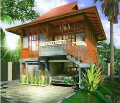 70 Simple And Classic Minimalist Wooden House Designs Wood House Design, Cottage Design, Hut House, Wooden House, Modern House Plans, Tropical Houses, Classic House, House Goals, House In The Woods
