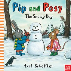 Pip and Posy love playing in the snow, but they can't seem to agree about what kind of snow creature they should build — Pip wants a snow-rabbit and Posy wants a snow-mouse! Oh, dear! A delightful new Pip and Posy story about learning to compromise and work together. 9780763666071 Ages 2-5