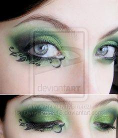 Recreation Extreme Make-Up by Dead-Rose-16.deviantart.com on @deviantART