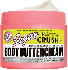 Soap & Glory Sugar Crush Body Buttercream, Sweet Lime Fragrance 10.1 oz (299 ml)