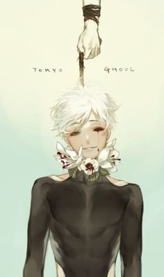 Kaneki | Tokyo Ghoul ※Permission to upload this was given by the artist
