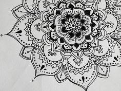henna flowers | Henna-esk flower | Flickr – Photo Sharing!