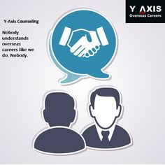 Nobody understands overseas careers like we do. Nobody. #YAxisCareerCounselling