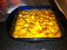 ** Lush Lounge **: Cheesy Chicken & Potato Casserole