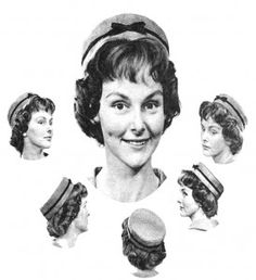 How to Make a Pushed-back Pillbox Hat...so Jackie O   <3
