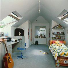 Attic Kids Room Ideas