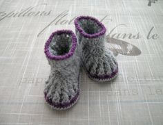 Baby Booties Crochet Baby Booties Baby Bootees Infant by ramutez