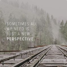 A quote reminding us we just need a new perspective. - NoSideBar