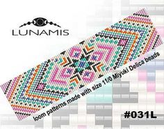 Browse unique items from LunamisBeadsPatterns on Etsy, a global marketplace of handmade, vintage and creative goods. Native Beading Patterns, Seed Bead Patterns, Stitch Patterns, Native Beadwork, Loom Bracelet Patterns, Bead Loom Bracelets, Minecraft Beads, Bead Weaving, Tapestry Weaving
