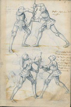 Manual combat sword fighting manual Lépée 1500 07 bonus story