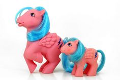 "My Little Pony ""Firefly"" with ""Baby Firefly"""