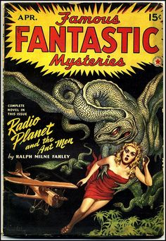 Virgil Finlay - Famous Fantastic Mysteries, April 1942 by Aeron Alfrey, via Flickr