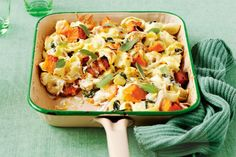 Filled with fresh vegies and tasty chicken, this budget-friendly dish is an instant family classic.