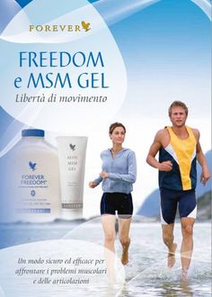 Forever Freedom Gel Drink en MSM gel