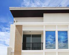 Een strakke en moderne look gecreëerd met een muurverf. Een prachtig resultaat en een goede bescherming en isolatie van uw muren.