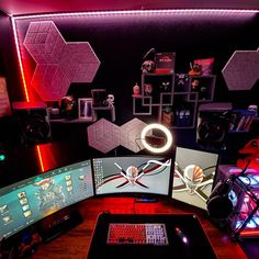 What do you like about this setup? 🤔 Comment down below ⬇️ Via 📸 shellback_tech  #gaming #gamingsetup #diablochairs #pcmasterrace #gamingpc #gaminglife #diablox #gamers #gamesroom #gamerstagram #gamer #gamingchairs #gamingroom #gamingposts #pcgaming #gaminggear #xone #katowice #gamingcommunity #gamingmeme #gamingmemes #gamingrig #gamingart #onlinegaming #gamingnews #iem #gamingmouse #gaminggirl #iemkatowice #gamestagram Best Gaming Setup, Gaming Memes, Games For Girls, Game Room, Game Rooms