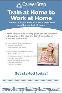 If you're really wanting a career in transcription or medical billing and coding and want to train at home to work at home in these fields - this article will be helpful. Find legitimate training and courses to get you where you want to be if these are the fields you want to work in or are thinking of working in. MoneyMakingMommy.com