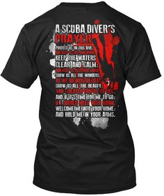 Scuba Diving On The Brain Womens Funny T-Shirt Dive Sea Diver Equipment Mask