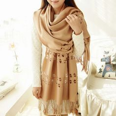 http://www.buyhathats.com/hollow-plain-cashmere-scarf-women-autumn-tassels-oversized-shawl.html