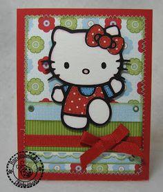 Okieladybug's Scrap N' More: Hello Kitty series
