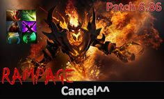 Amazing Fight Scene With Rampage Shadow Fiend By Cancel^