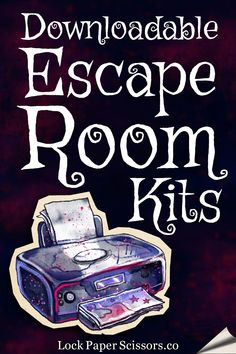 These escape room kits claim to be the easiest way to be an escape room designer for a night. Turns out they& pretty good. Escape Room, Family Night, Summer Activities, Sleepover, Party Games, Games For Kids, Cool Kids, Kids Smart, Halloween Party